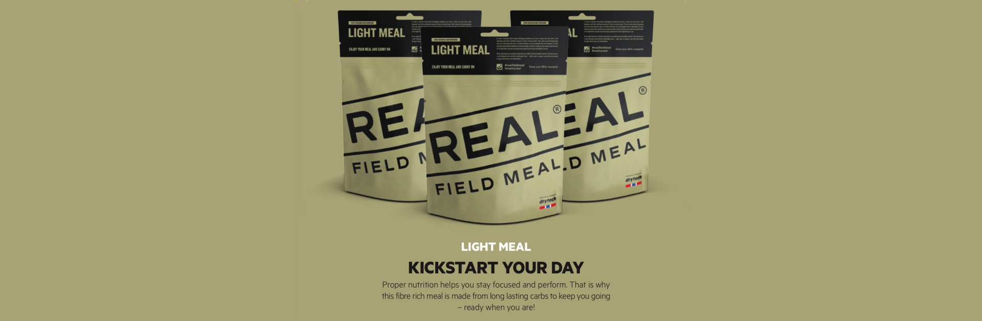 Kickstart your day with REAL Field Meal