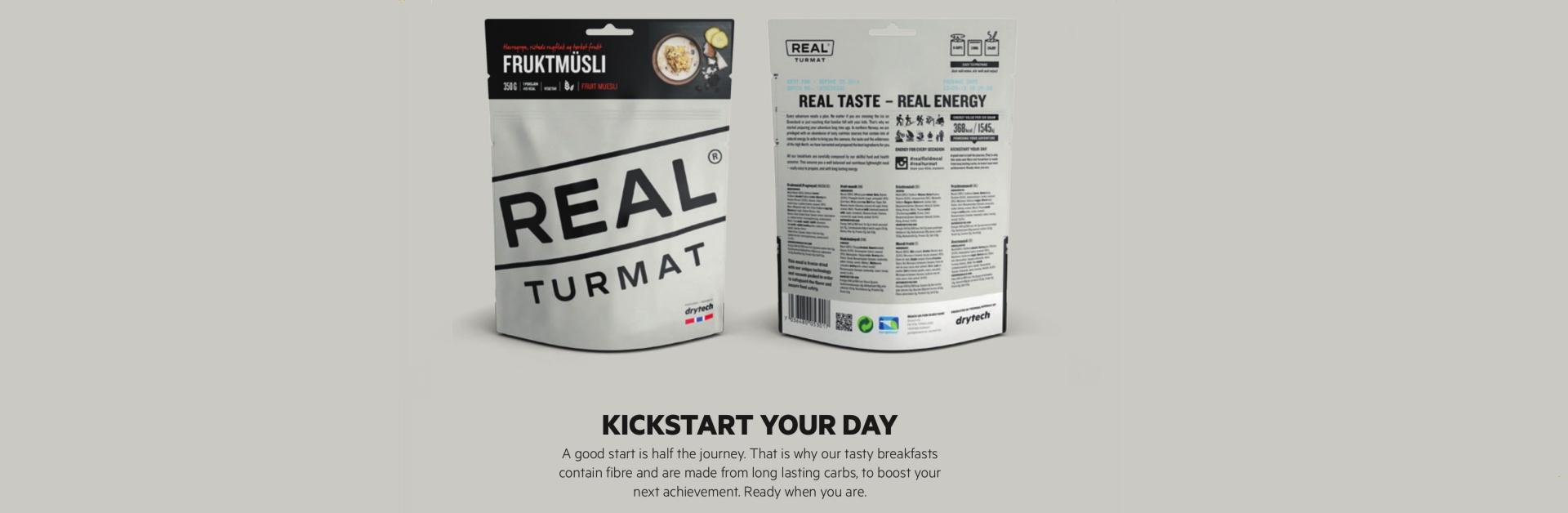 Kickstart your day with Turmat